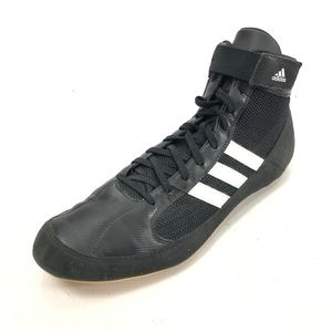 ADIDAS 13 Wrestling Shoes Sneakers Black Lace Up